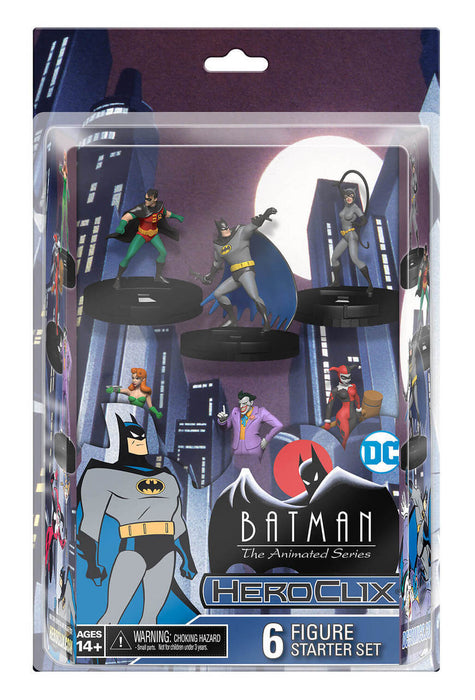 Wizkids - DC - HeroClix - Batman the Animated Series - 6 Figure - Starter Set