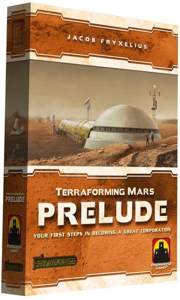 Stronghold Games - Terraforming Mars - Prelude