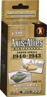Axis & Allies - North Africa - 1940-1943 Booster Pack Avalon Hill | Cardboard Memories Inc.