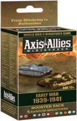 Axis & Allies - Early War 1939-1941 Booster Pack Avalon Hill | Cardboard Memories Inc.