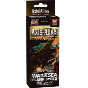 Axis & Allies - War at Sea - Flank Speed Booster Pack Avalon Hill | Cardboard Memories Inc.