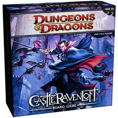 Dungeons & Dragons - Castle Ravenloft Board Game Wizards of the Coast | Cardboard Memories Inc.