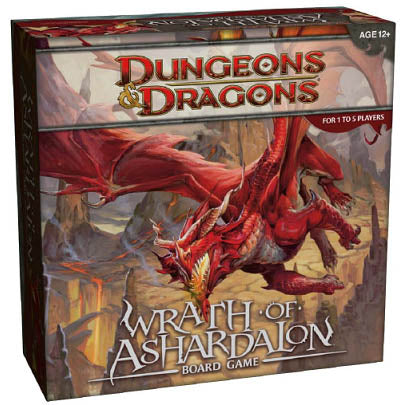 Dungeons & Dragons - Wrath of Ashardalon Board Game Wizards of the Coast | Cardboard Memories Inc.