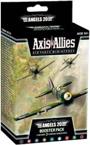 Axis & Allies - Air Force - Angels 20 Booster Pack Avalon Hill | Cardboard Memories Inc.