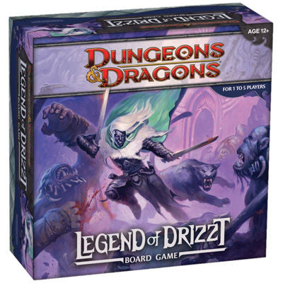 Dungeons & Dragons - The Legend of Drizzt Board Game Wizards of the Coast | Cardboard Memories Inc.