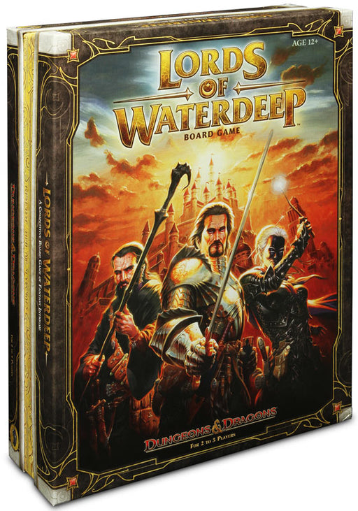 Dungeons & Dragons - Lords of Waterdeep Wizards of the Coast | Cardboard Memories Inc.