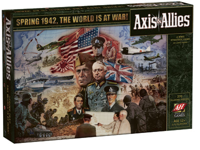 Axis & Allies - 1942 2nd Edition Avalon Hill | Cardboard Memories Inc.