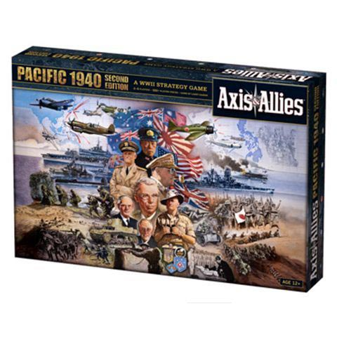 Axis & Allies Pacific - 1940 2nd Edition Avalon Hill | Cardboard Memories Inc.