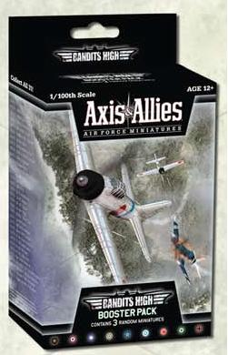 Axis & Allies - Air Force - Bandits High Booster Pack Avalon Hill | Cardboard Memories Inc.