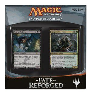 Magic the Gathering Fate Reforged Two-Player Clash Pack - Power & Profit Magic The Gathering | Cardboard Memories Inc.