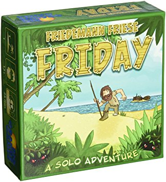 Friday Rio Grande Games | Cardboard Memories Inc.