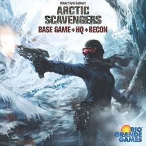 Arctic Scavengers Base Game + HQ + Recon Rio Grande Games | Cardboard Memories Inc.