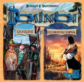 Dominion - Guilds & Cornucopia Expansion Rio Grande Games | Cardboard Memories Inc.