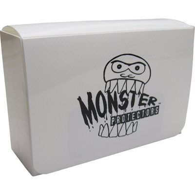 Monster Double Deck Box - White Monster | Cardboard Memories Inc.