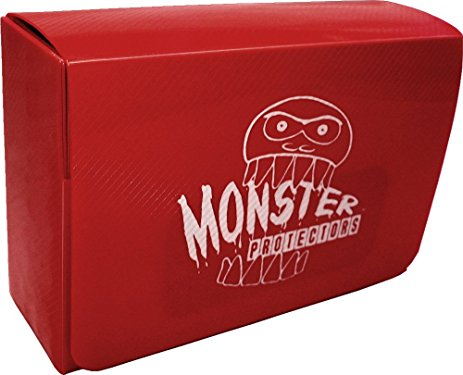 Monster Double Deck Box - Red Monster | Cardboard Memories Inc.