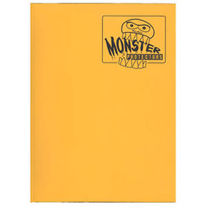 Monster Binder - Sunflower Orange (9 Pocket) Monster | Cardboard Memories Inc.