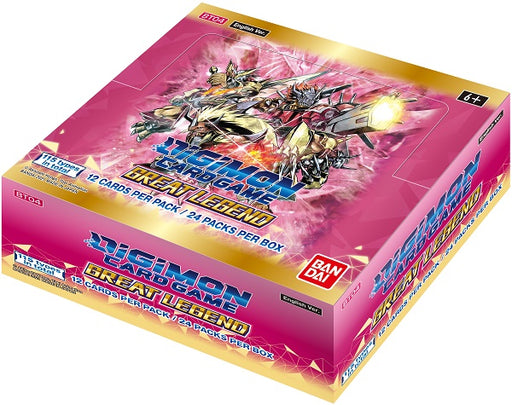 Bandai - Digimon - Great Legend - Booster Box - Pre-Order May 7th 2021