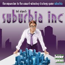 Suburbia Inc. Expansion Bezier Games | Cardboard Memories Inc.
