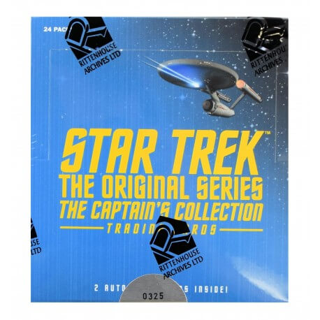 Rittenhouse - 2018 - Star Trek The Original Series The Captains Collection - Hobby Box