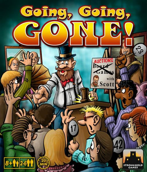 Going, Going, GONE! Stronghold Games | Cardboard Memories Inc.