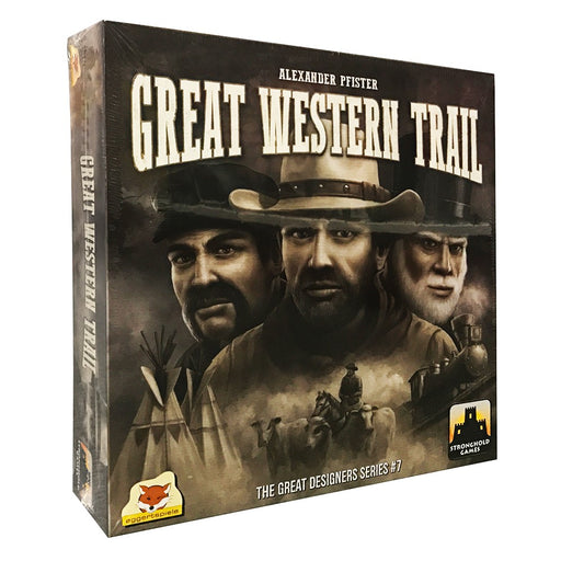 Great Western Trail Stronghold Games | Cardboard Memories Inc.