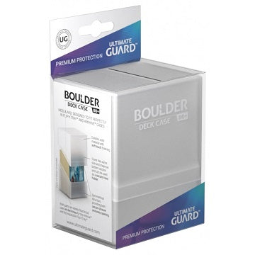 Ultimate Guard - Boulder Deck Case - Frosted - 80