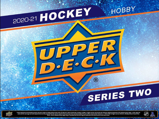 Upper Deck - 2020-21 - Hockey - Series 2 - 12 Box Hobby Case - Pre-Order Box