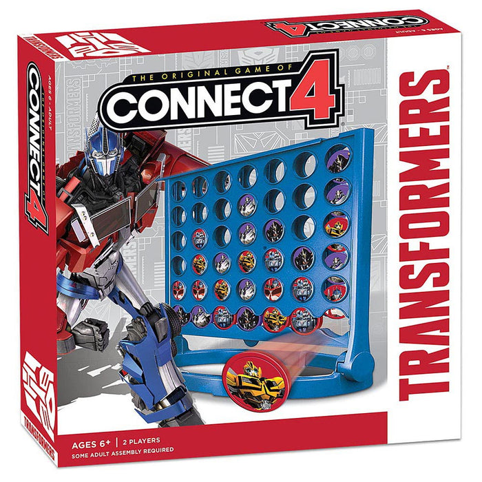 Connect 4 - Transformers Usaopoly | Cardboard Memories Inc.