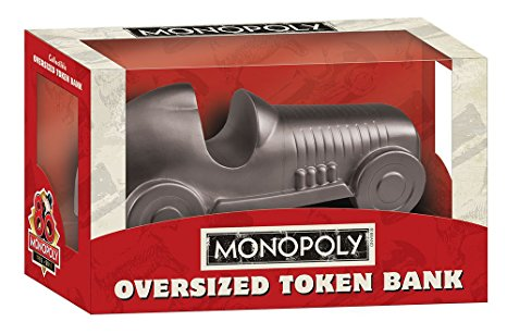 Monopoly Oversized Token Bank - Car Usaopoly | Cardboard Memories Inc.