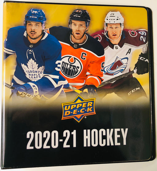 Upper Deck - 2020-21 - Hockey - Series 1 - Binder