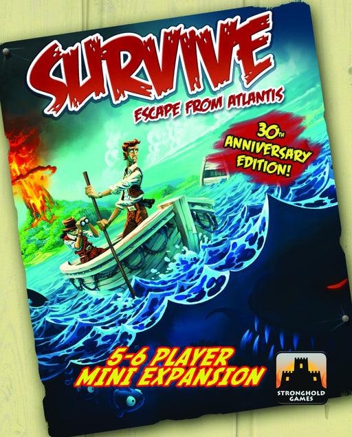 Survive - Escape From Atlantis! - 5-6 Player Mini Expansion Stronghold Games | Cardboard Memories Inc.