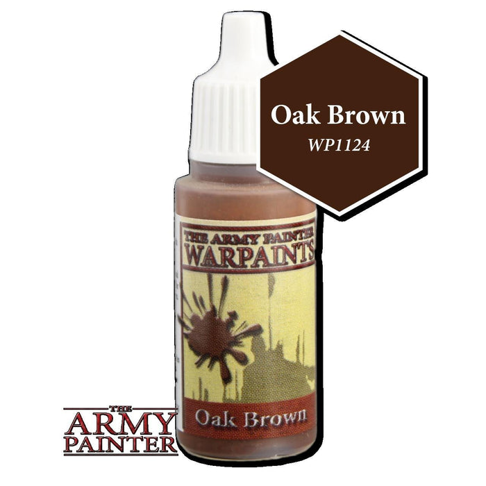 Army Painter Warpaints - Oak Brown WP1124 The Army Painter | Cardboard Memories Inc.
