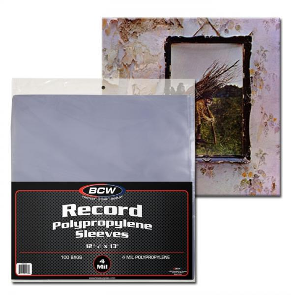 BCW Record Sleeves 12 3/4 x 13