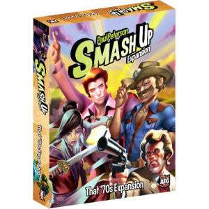 Smash Up - That 70's Expansion Alderac Entertainment Group | Cardboard Memories Inc.