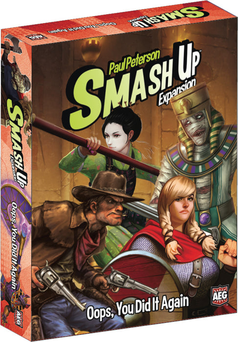 Alderac Entertainment Group - Smash Up Expansion - Oops You Did it Again