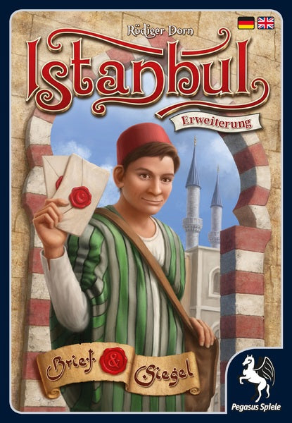 Alderac Entertainment Group - Istanbul - Letters and Seals Expansion