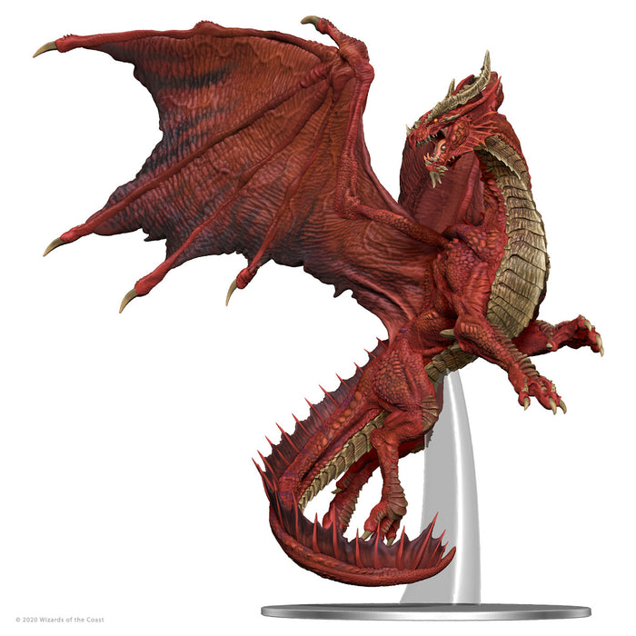 Wizards of the Coast - Dungeons and Dragons - Icons of the Realms - Adult Red Dragon