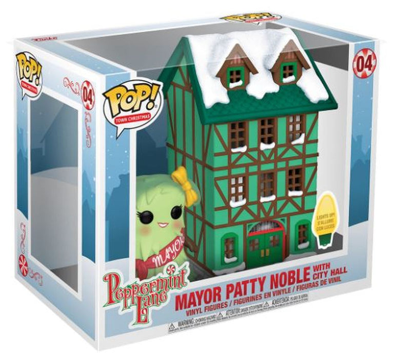 POP! - Peppermint Lane - Mayor Patty Noble with City Hall