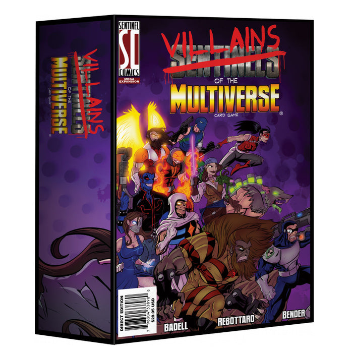 Sentinels of the Multiverse - Villains of the Multiverse Expansion Greater Than Games | Cardboard Memories Inc.