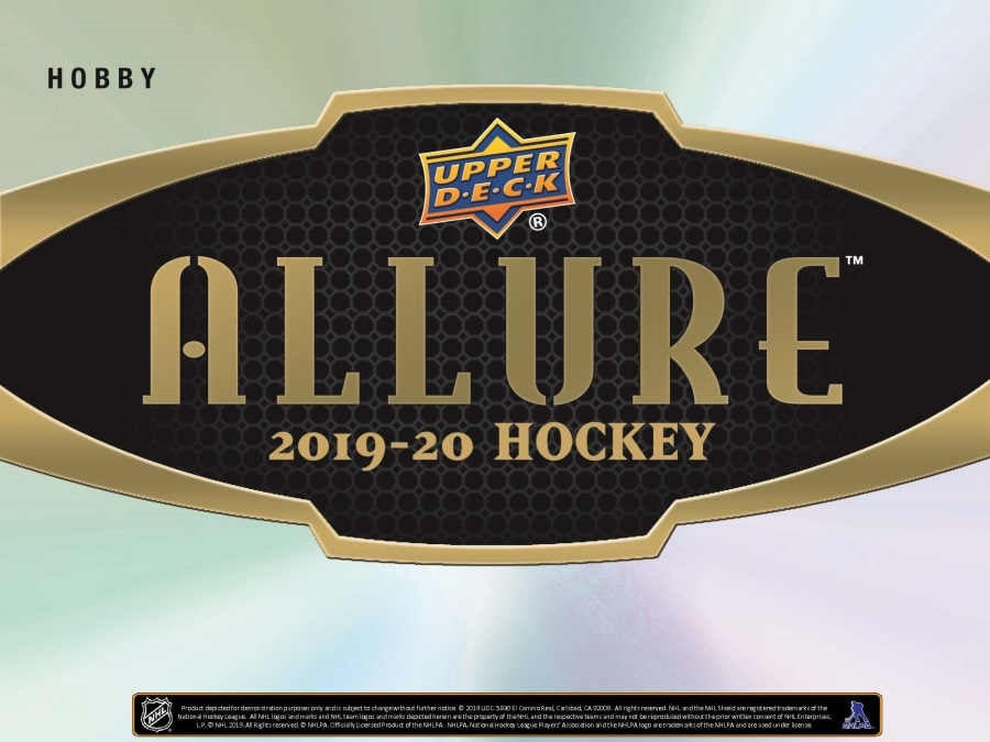 Upper Deck - 2019-20 - Hockey - Allure - 20 Box Hobby Box Master Case