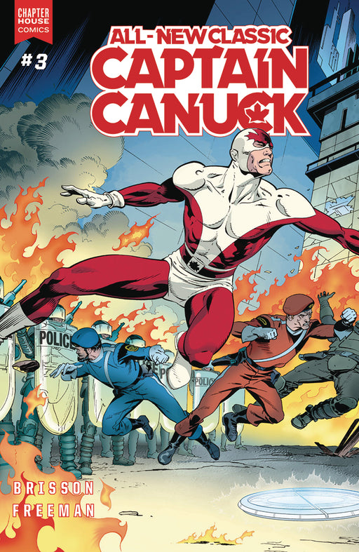 Chapter House Comics - All New Classic Captain Canuck 003- Cover A - 2493