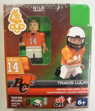 CFL OYO British Columbia Lions Travis Lulay Oyo Figures | Cardboard Memories Inc.