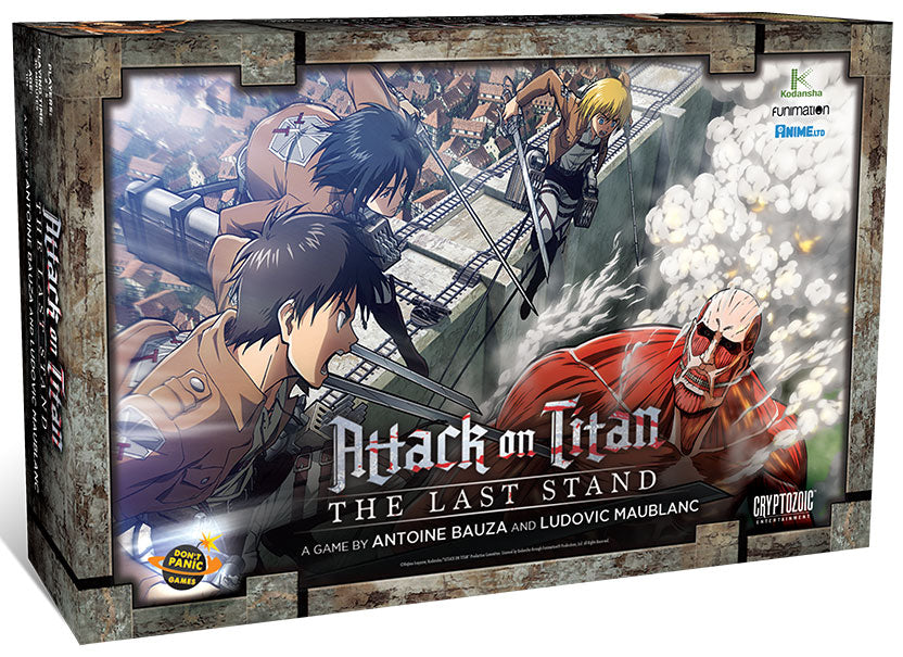 Attack on Titan - The Last Stand Cryptozoic | Cardboard Memories Inc.