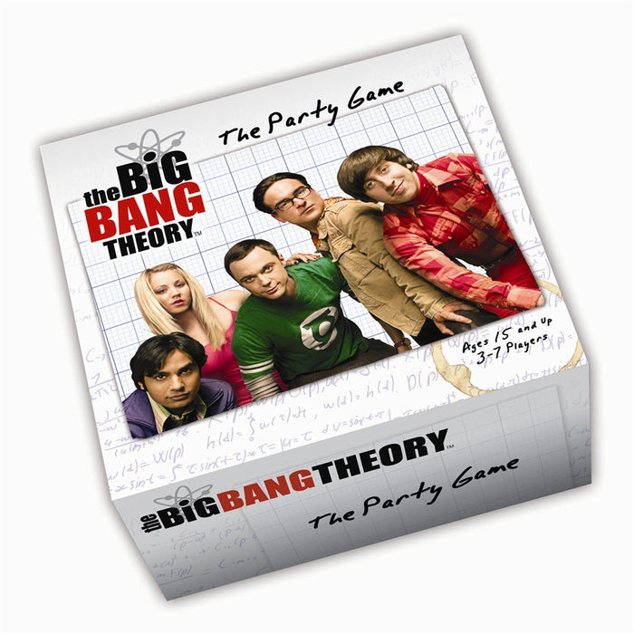 Big Bang Theory Party Game Cryptozoic | Cardboard Memories Inc.
