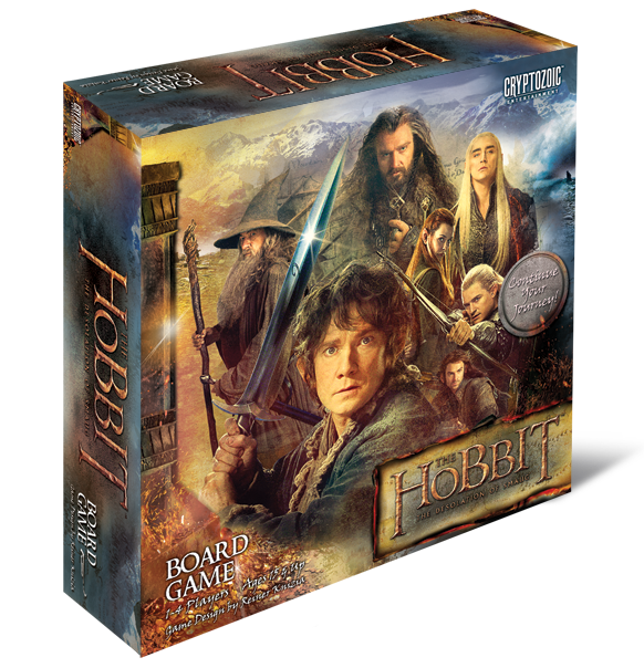 The Hobbit - Desolation of Smaug Board Game Cryptozoic | Cardboard Memories Inc.