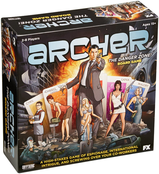 Archer - The Danger Zone! Cryptozoic | Cardboard Memories Inc.