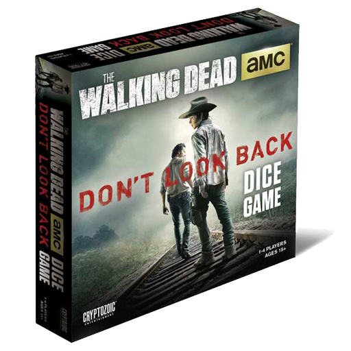 The Walking Dead Dice Game - Don't Look Back Cryptozoic | Cardboard Memories Inc.