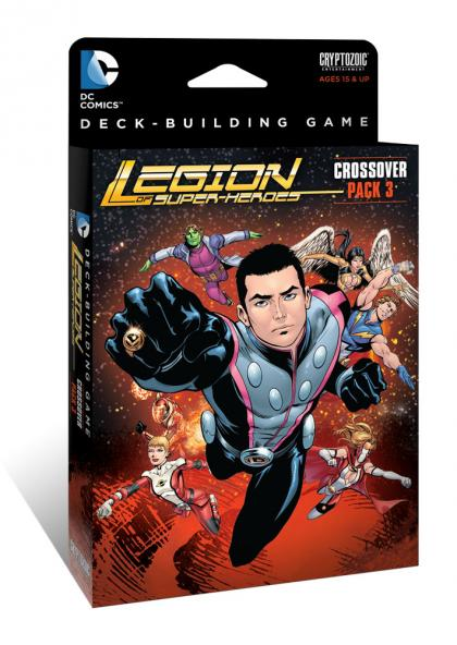 DC Comics Deck-Building Game - Legion of Super-Heroes Crossover Pack 3 Cryptozoic | Cardboard Memories Inc.