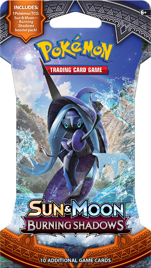 Pokemon - Sun and Moon - Burning Shadows - Blister Pack