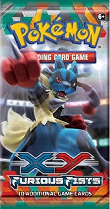 Pokemon XY Furious Fists Booster Pack Pokemon | Cardboard Memories Inc.